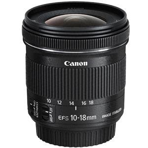 Canon EF-S 10-18mm F4.5 5.6 IS STM Camera Lens